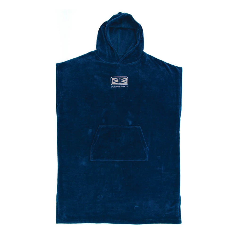 PONCHO OCEAN EARTH CORP HOODED PONCHO - CORP HOODED PONCHO