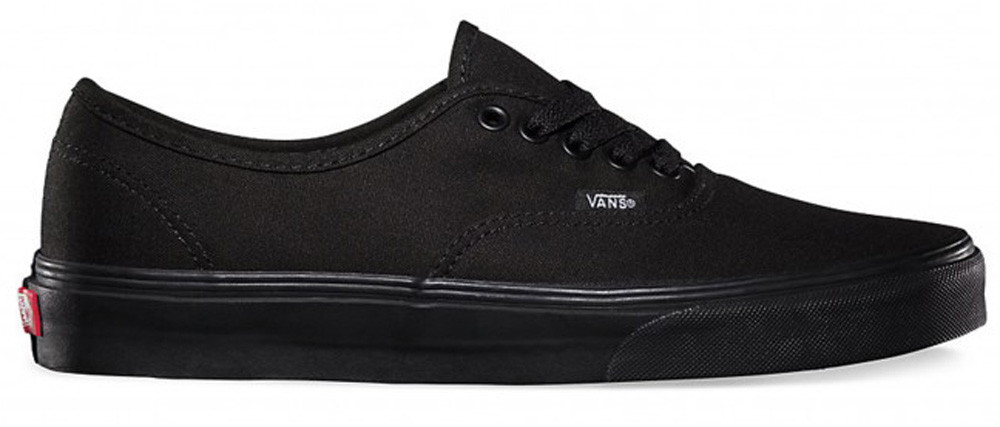 PLAYEROS VANS AUTHENTIC - BLACK/BLACK