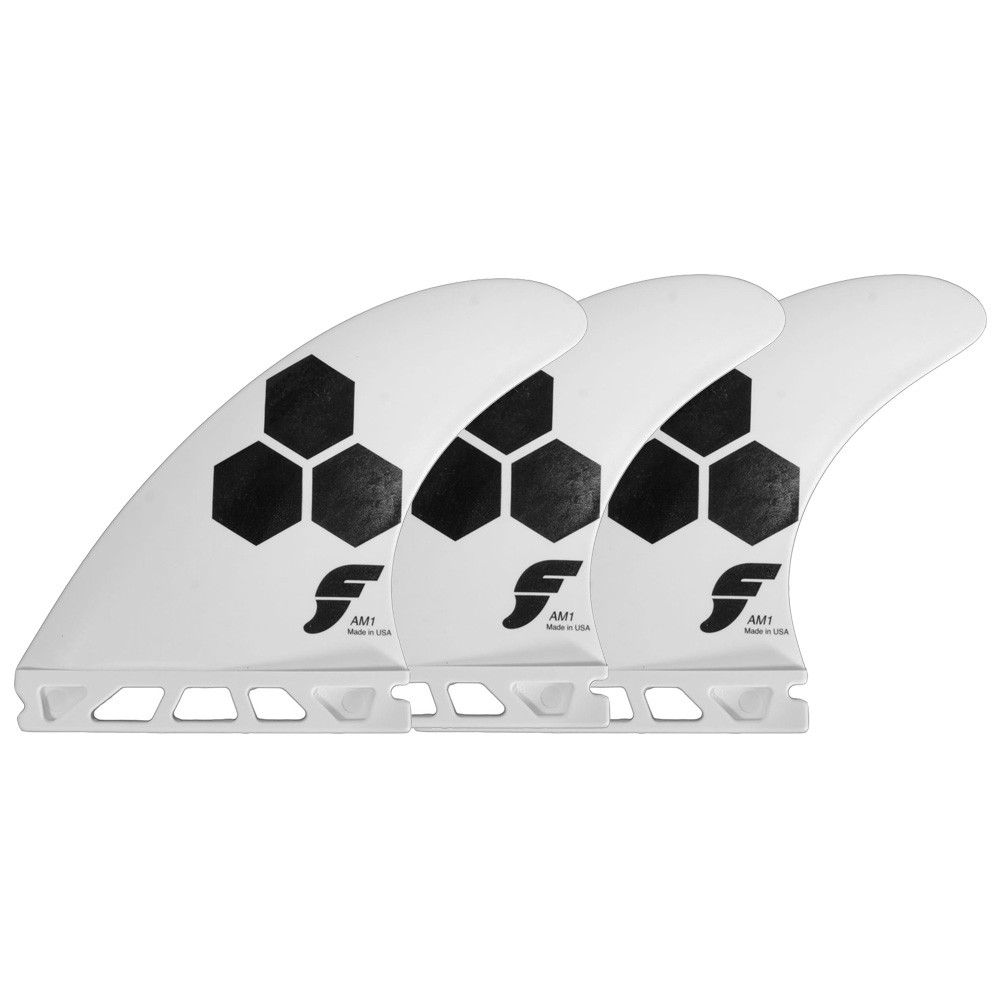 QUILLAS FUTURES AM1 THERMOTECH TRI-FINS - WHITE