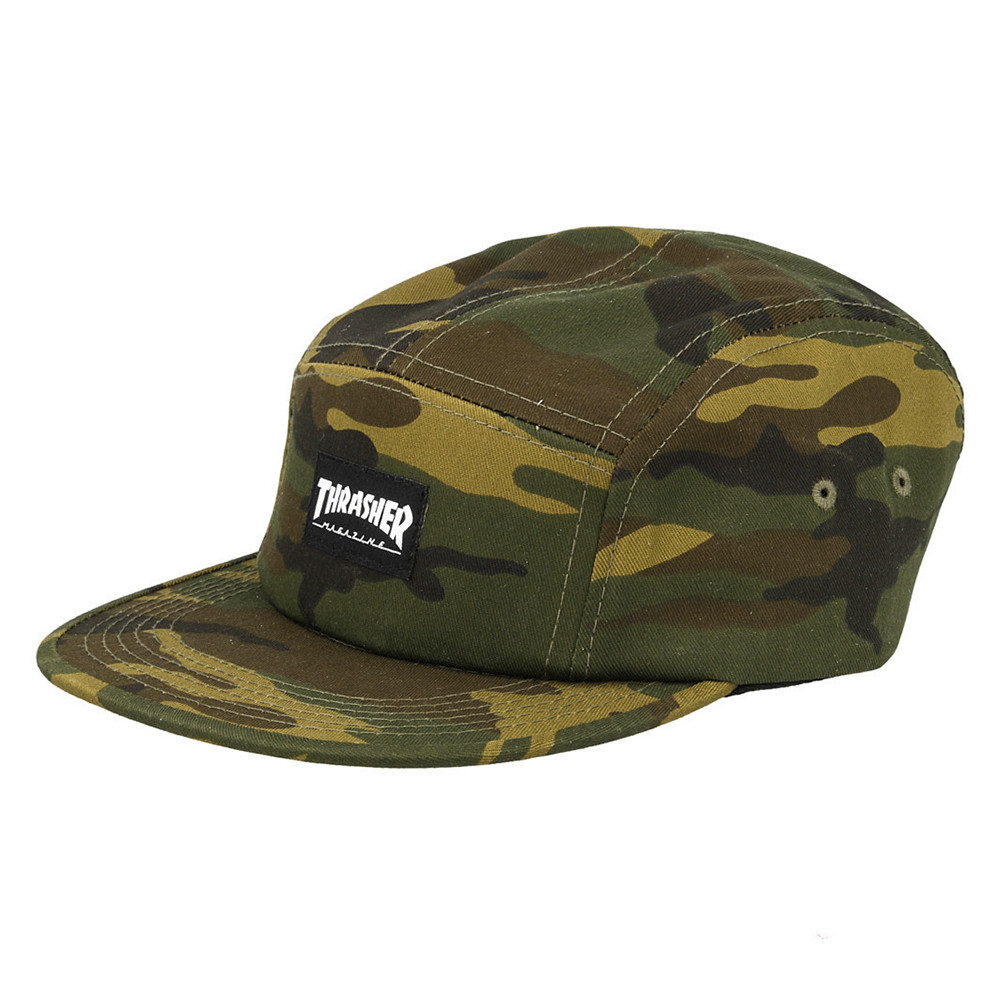 GORRA THRASHER 5 PANEL
