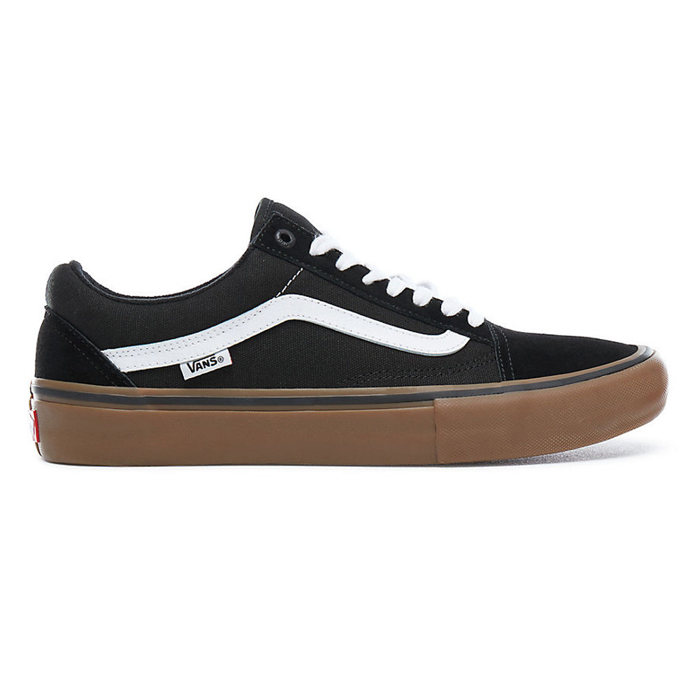 ZAPATILLAS VANS MN OLD SKOOL PRO BLACK/WHITE/