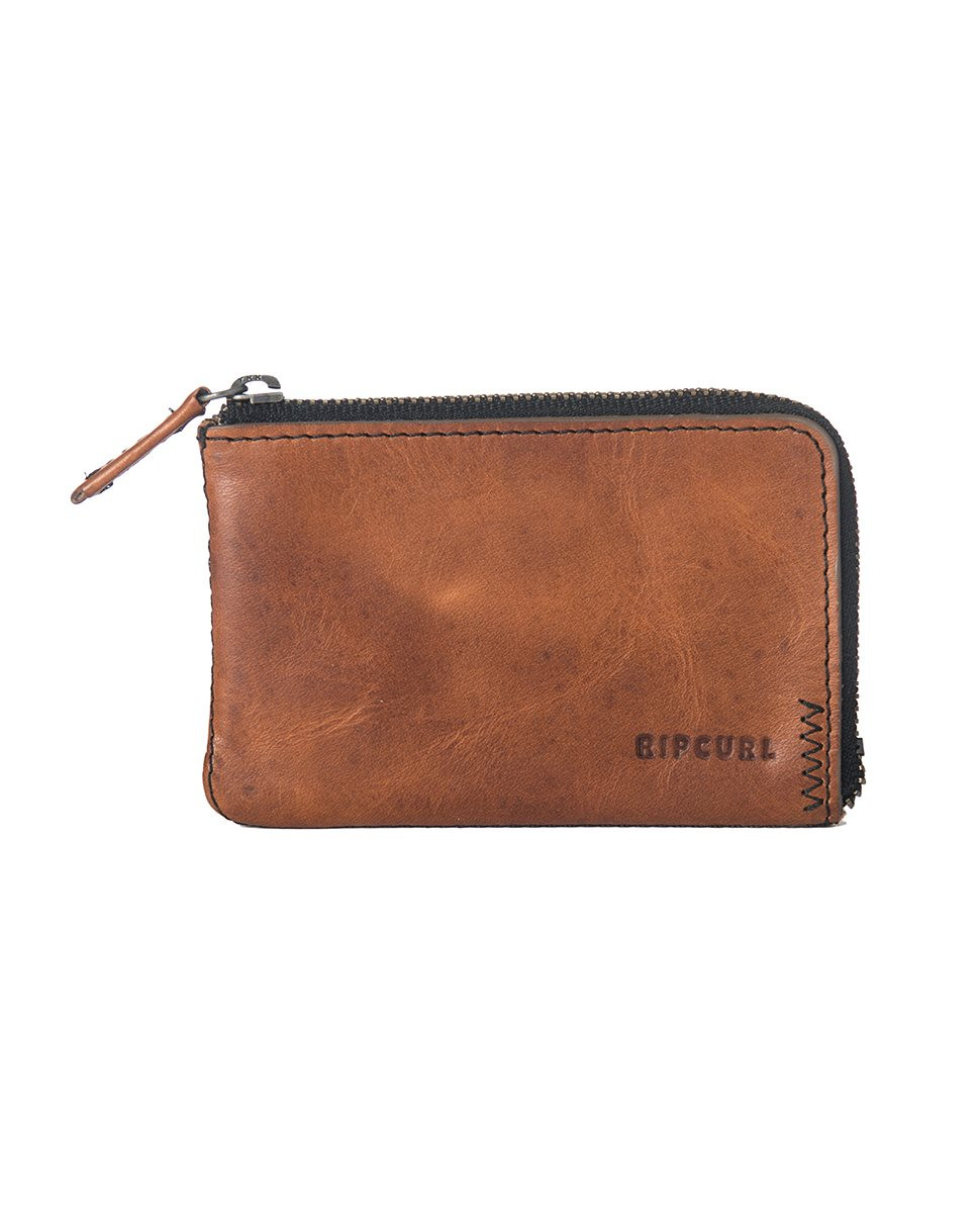 CARTERA RIP CURL HANDCRAFTED ZIP COIN SLIM
