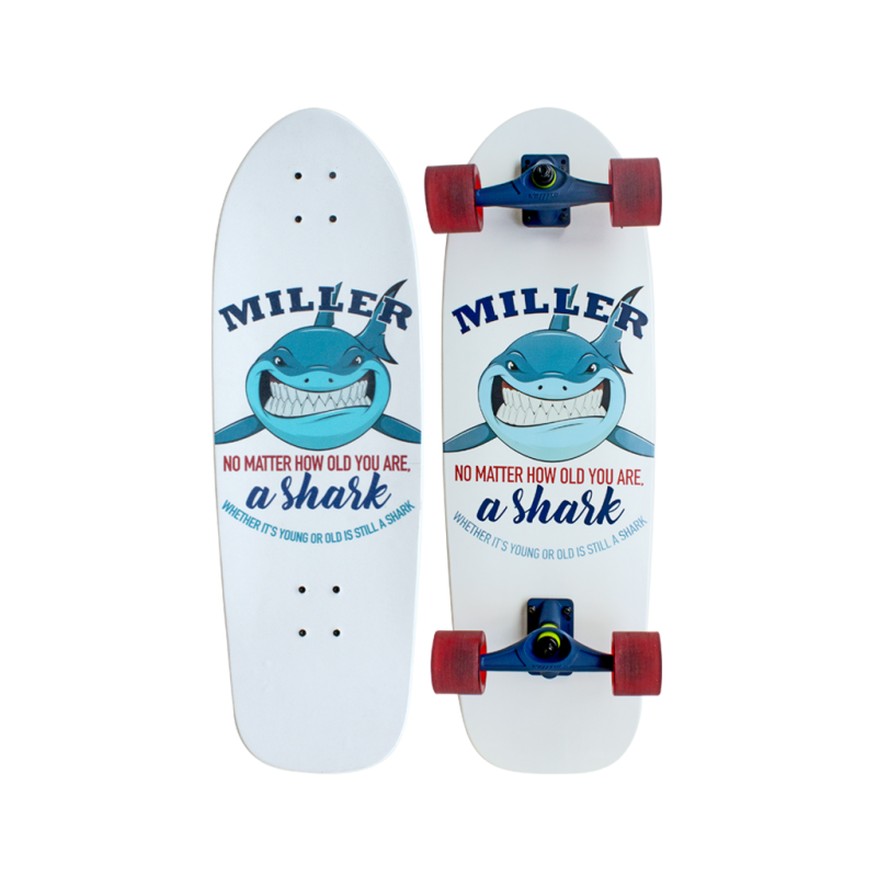SURFSKATE MILLER SHARK 31.5''