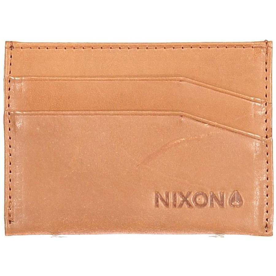 CARTERA  NIXON FLACO LEATHER CARD WALLET