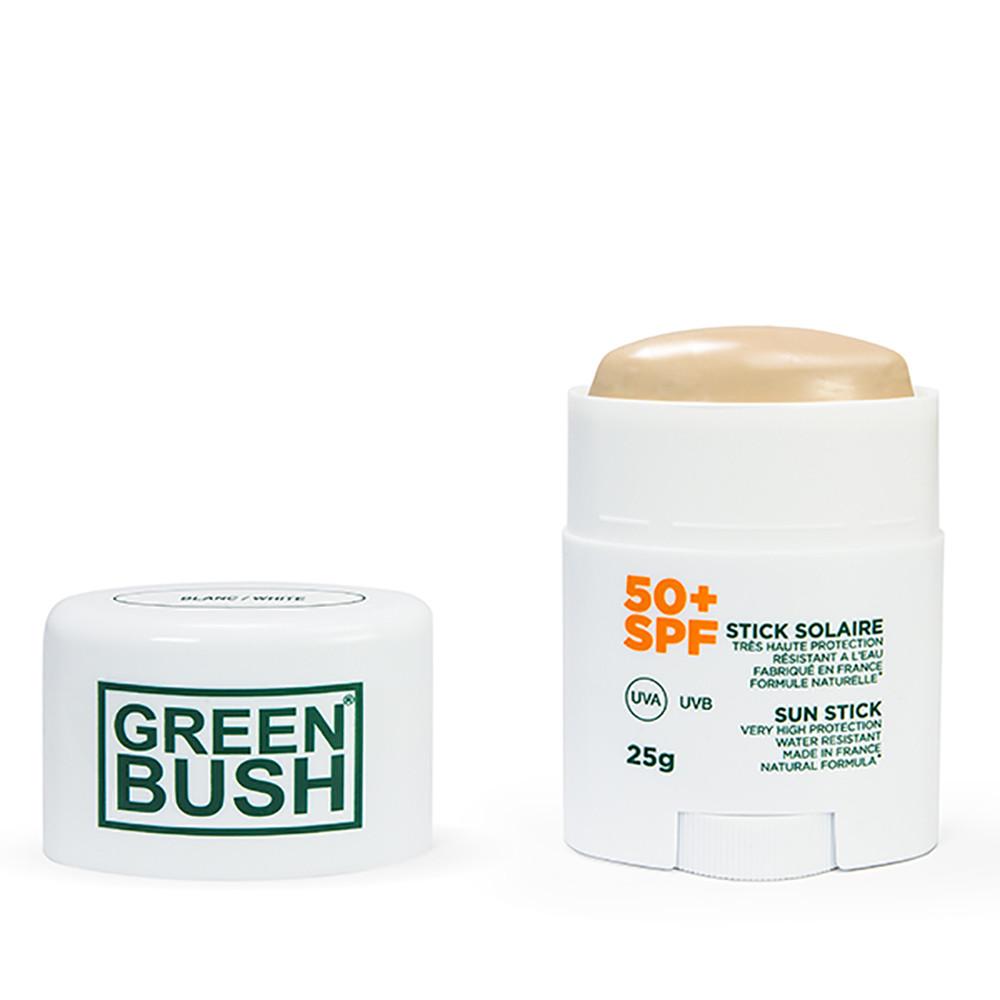 CREMA SOLAR GREEN BUSH STICK SPF50+