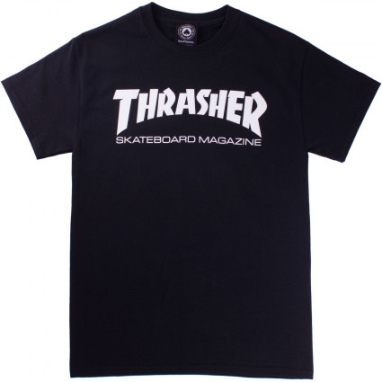 CAMISETA THRASHER SKATE MAG - BLACK