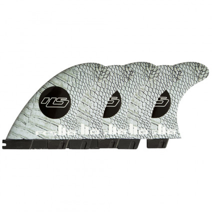 QUILLAS FCS II HS PC CARBON M TRI-QUAD FINS