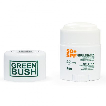 CREMA SOLAR GREEN BUSH STICK SPF50+