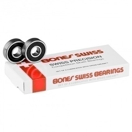 RODAMIENTOS BONES 7 BALL SWISS 8 PACK
