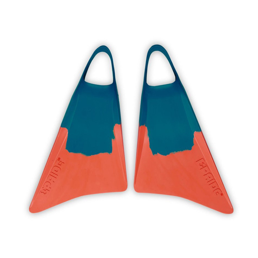 THE VULCAN V1 - DEEP SEA GREEN/ORANGE FINS