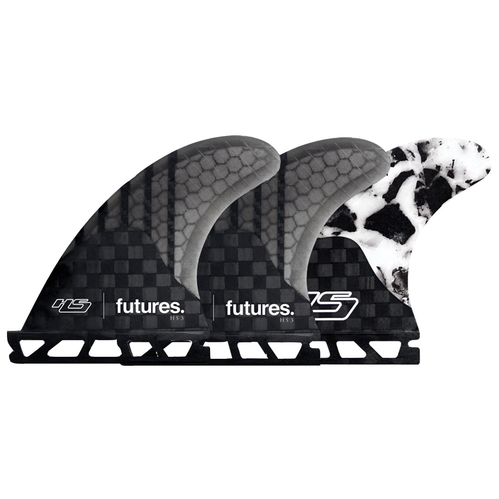 FUTURES HAYDEN SHAPES TRI-FINS FINS