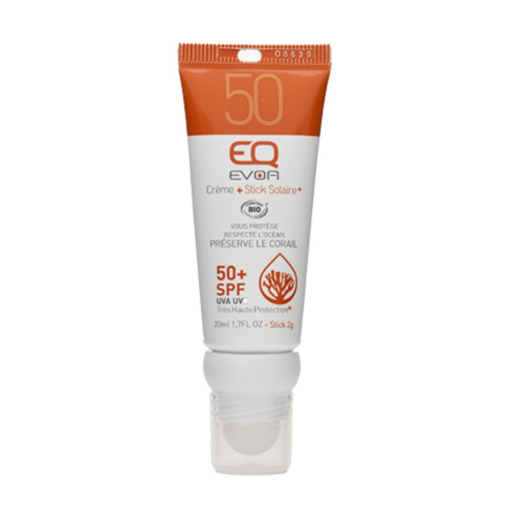 STICK SOLAR + CREMA +50SPF EQ - CLEAR CREAM