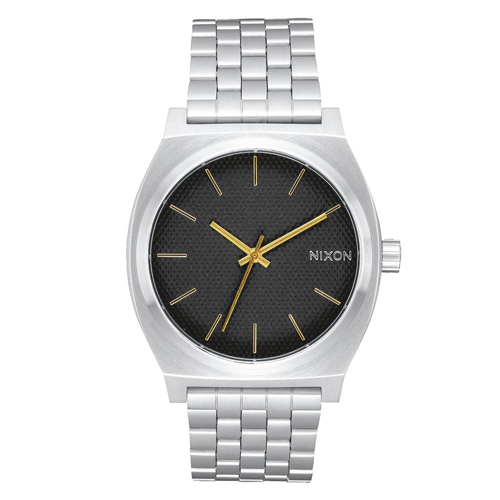 NIXON TIME TELLER - STAMPED/GOLD WATCH