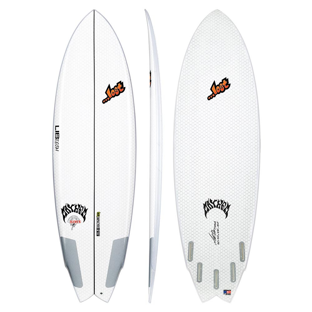 LIB-TECH X LOST ROUND NOSE FISH SURFBOARD