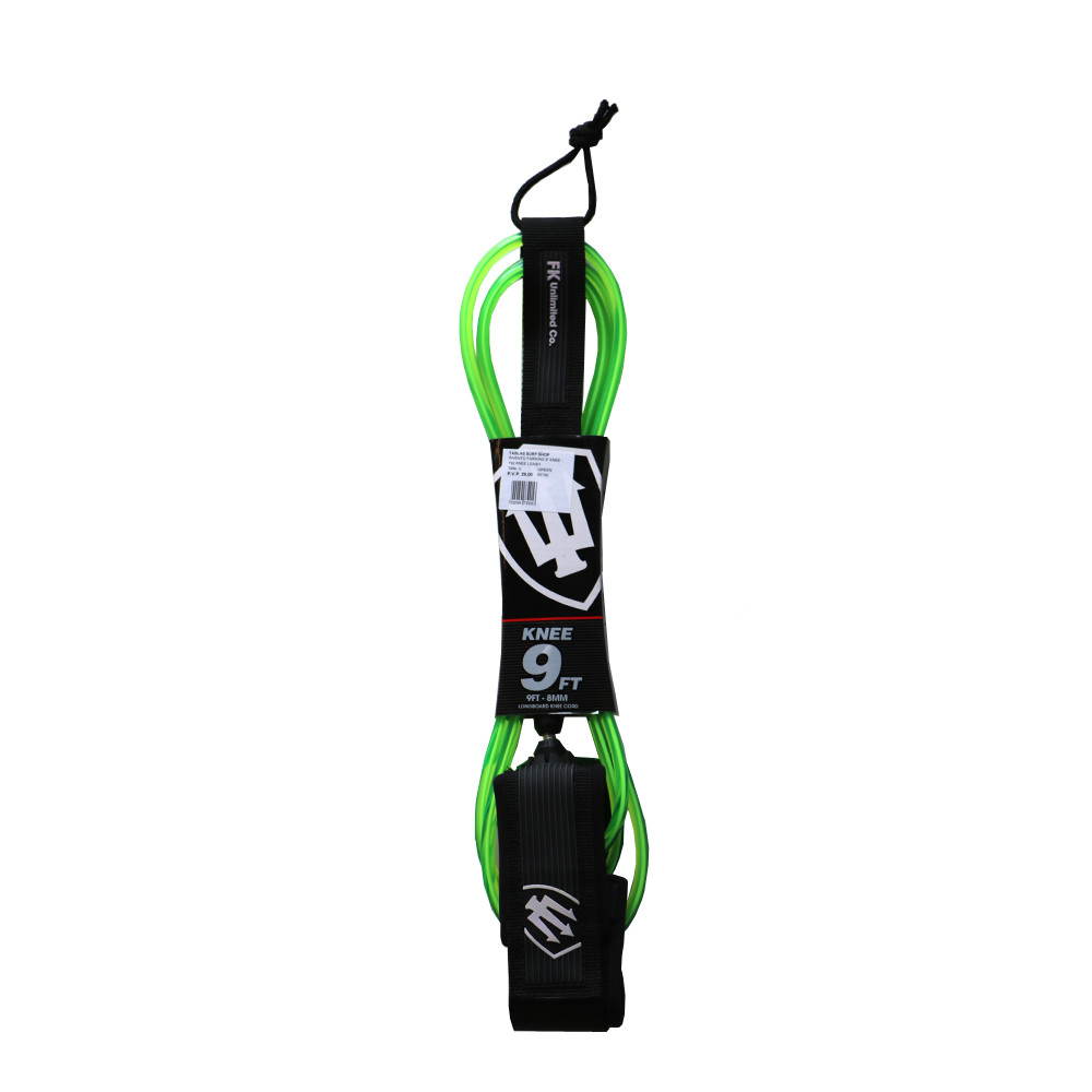 FARKING 9' KNEE - GREEN LEASH