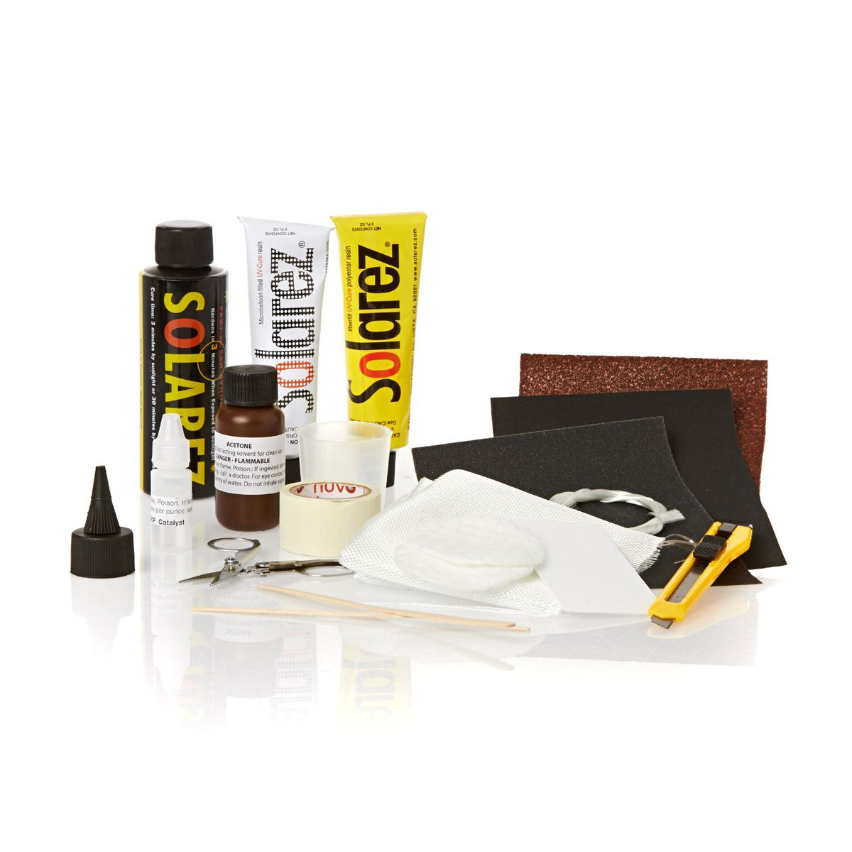 SOLAREZ POLYESTER REPAIR KITS