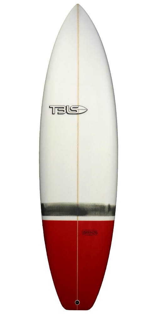 TBLS THE TRASH CAN - ROJO SURFBOARD