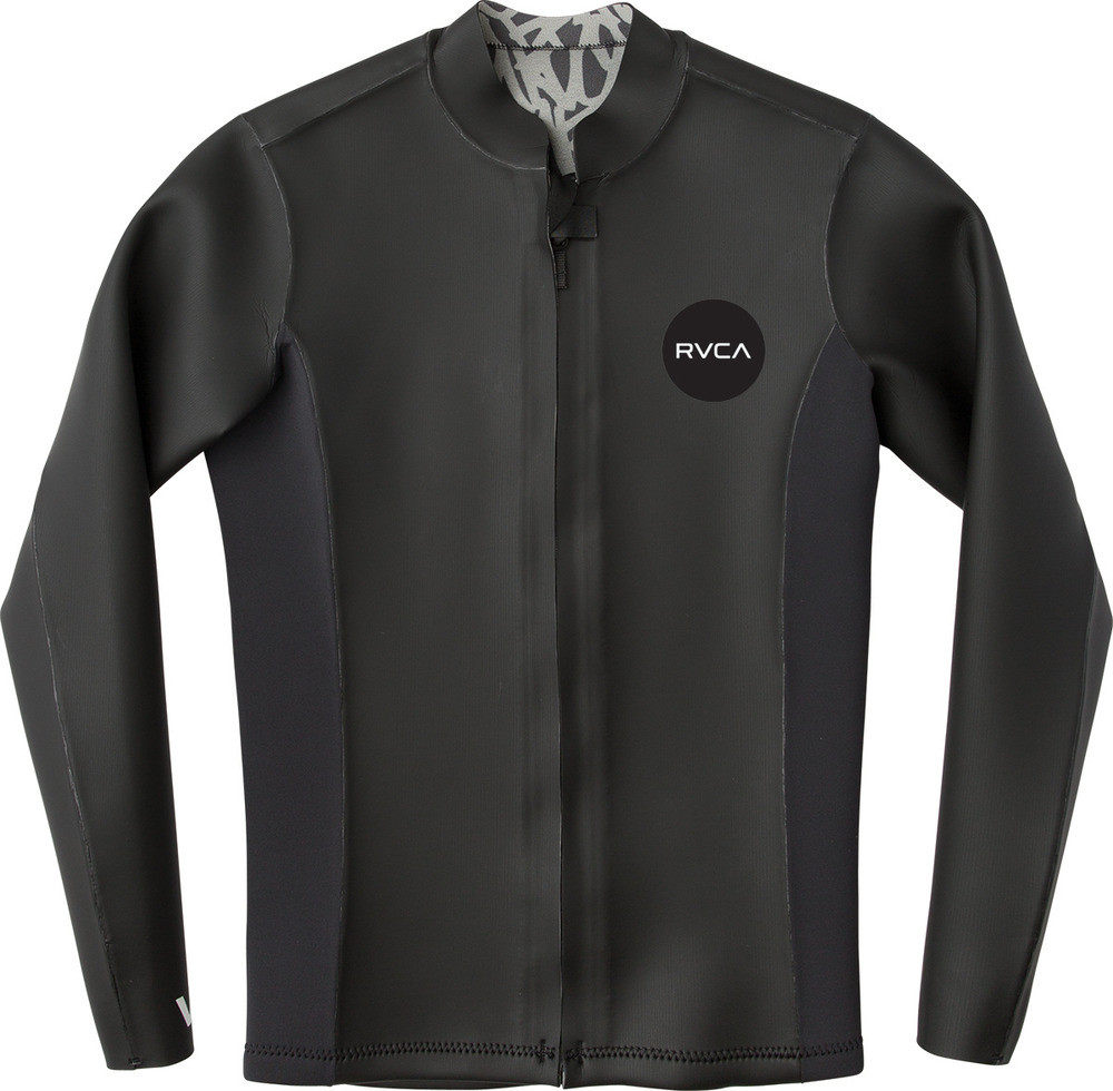 2/2 RVCA FRONT ZIP SMOOTHIE JACKET