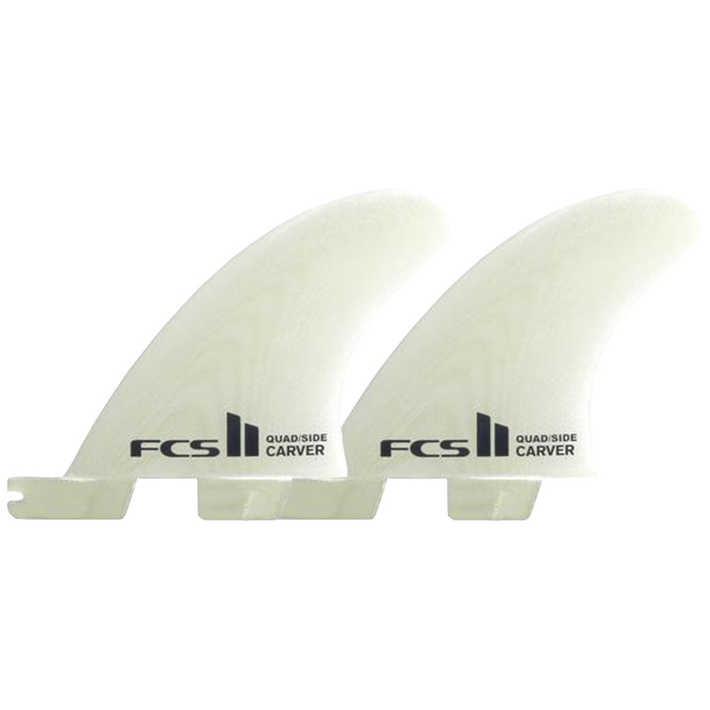 QUILLAS  FCS II CARVE PG S QUAD REAR SIDE BYTE FINS