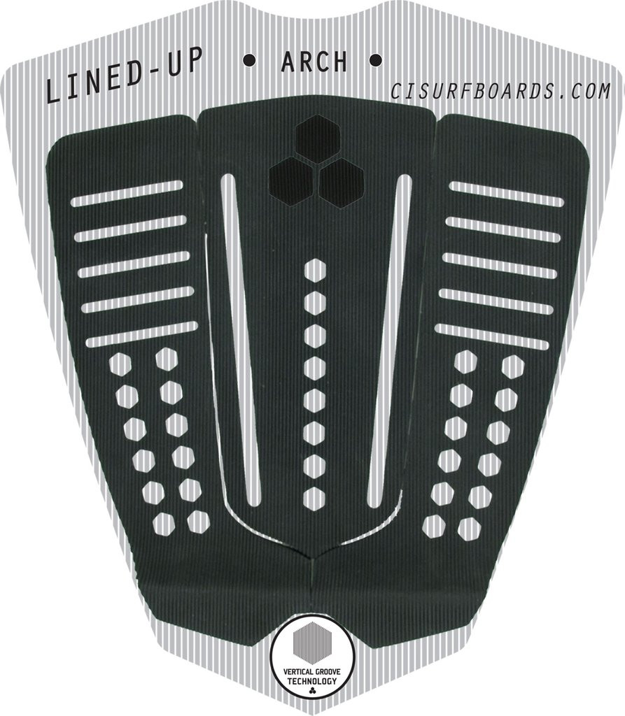 CI LINED UP ARCH PAD - NEGRO PAD