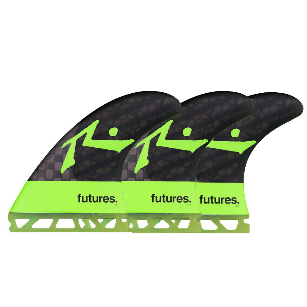 FUTURES VII RUSTY BLACKSTIX 3.0 FINS