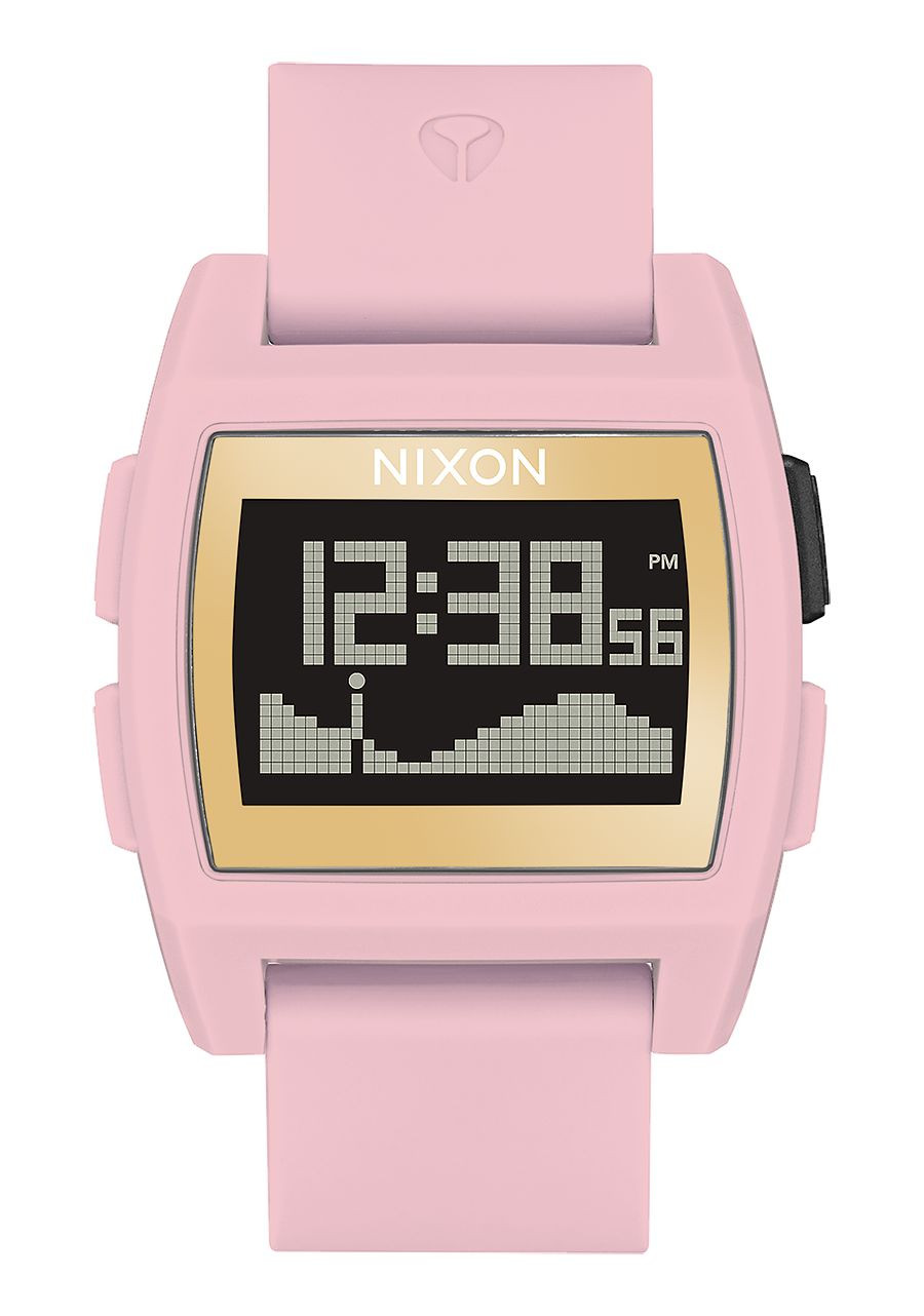 NIXON BASE TIDE SOFT PINK /GOLD /LH WATCH