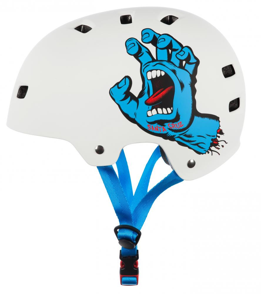 BULLET X SANTA CRUZ SCREAMING HAND BLANCO HELMET