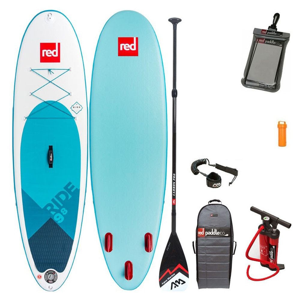 RED PADDLE 2018 RIDE 9'8'' STAND UP PADDLE BOARD