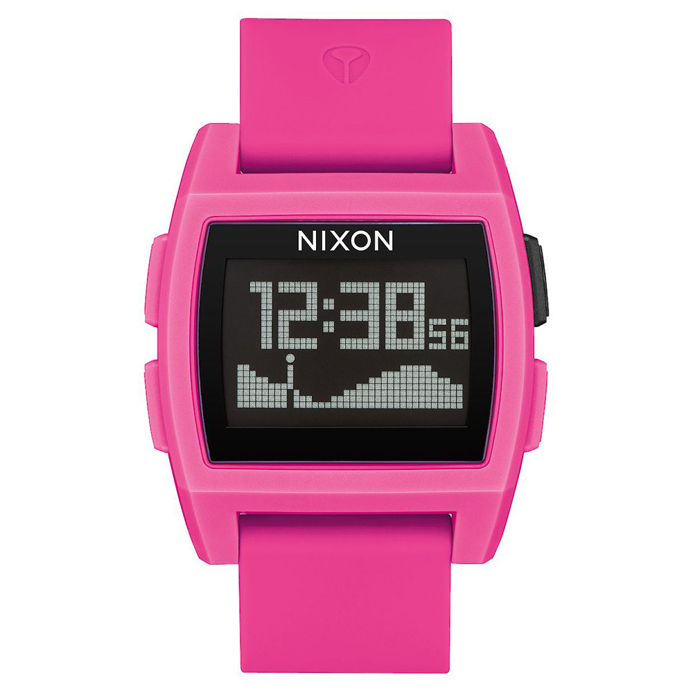MONTRE NIXON BASE TIDE 38MM - PUNK PINK
