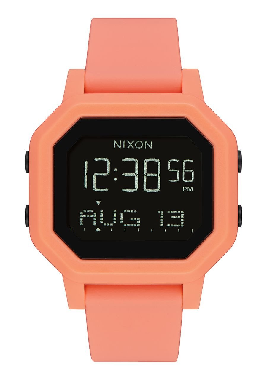 MONTRE NIXON SIREN - LIGHT TANGERINE